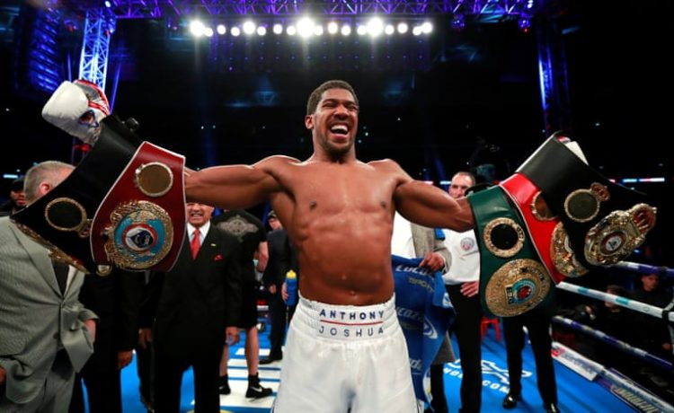Anthony Joshua Retains World Heavyweight titles After Defeating Alexander Povetkin - OkayNG News