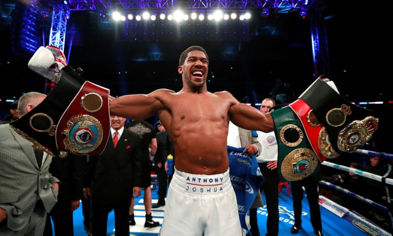 Photo of Anthony Joshua Retains World Heavyweight titles After Defeating Alexander Povetkin