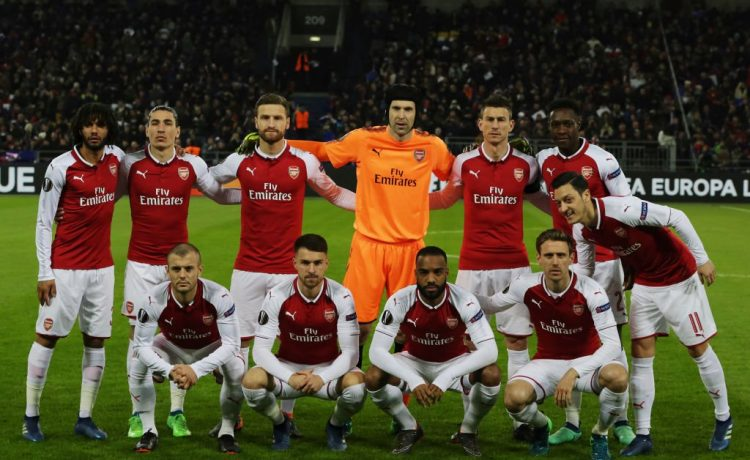 Arsenal Release 2018/19 UEFA Europa League Squad [See Full list] - OkayNG News