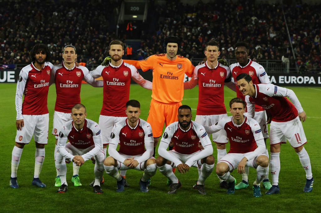 Arsenal1 - Arsenal Release 2018/19 UEFA Europa League Squad [See Full list]