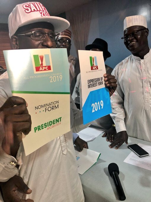 Group Purchases 2019 APC Presidential Nomination Form for Buhari - OkayNG News