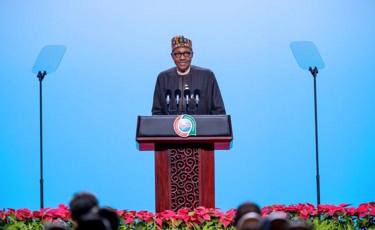 PHOTOS: President Buhari Speaks at FOCAC Summit In China