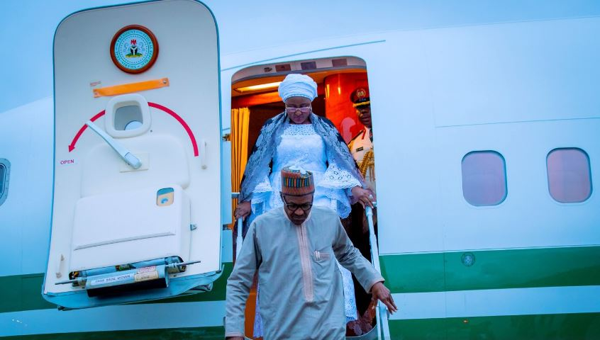 Buhari arrives New York 1 - President Buhari Arrives New York for UN General Assembly [See Photos]