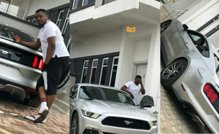 CDQ Reveals How He Bought His N20m Mustang Car - OkayNG News