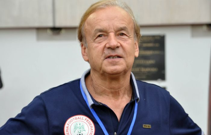 Rohr Warn Super Eagles Ahead Of Saturday's AFCON Qualifying Game Against Seychelles - OkayNG News