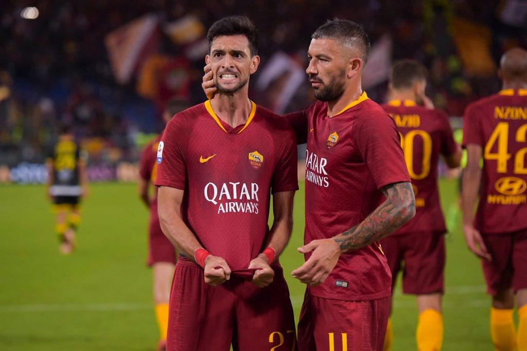 DoDssRLWkAAkSVI - Roma 4 – 0 Frosinone [Serie A Highlights] [Watch Video]