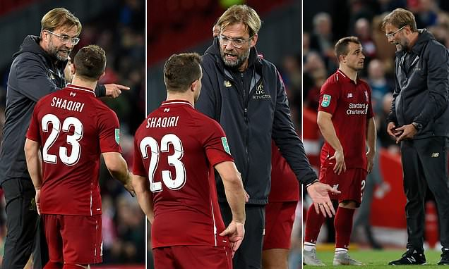 DoFYkxMUwAAUPVE - Liverpool manager, Jurgen Klopp reveals why his side lost to Chelsea [See Details]