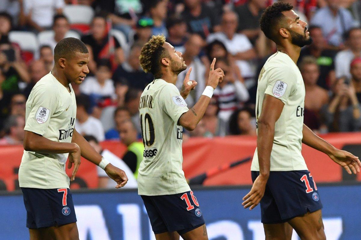 DoTBde0VsAAyuK1 - Nice 0 – 3 PSG [Ligue 1 Highlights] [Watch Video]