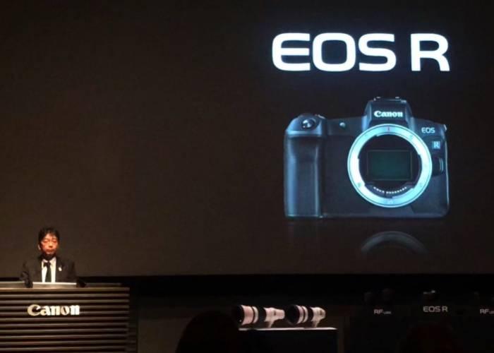 Canon EOS R Unveiling