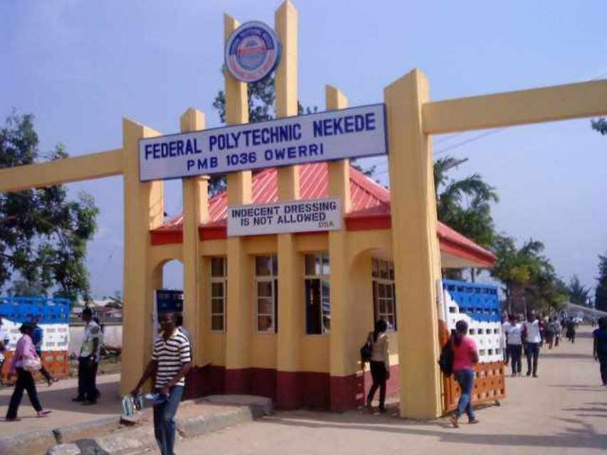 Federal Polytechnic Nekede3 - Federal Polytechnic Nekede 2018/2019 HND Admission List Released [Click To See Result]