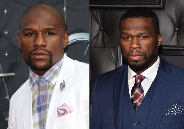 Floyd 50 Cent OkayNG - It's So Messy This Time! 50 Cent and Floyd Mayweather Fight Again [See Why]