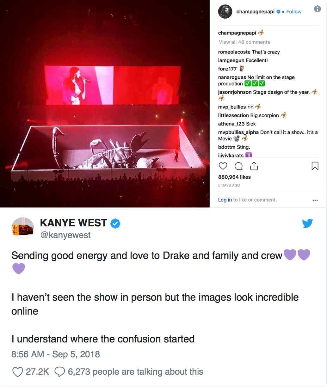 Kanye West Apologises to Drake Over Feud - OkayNG News