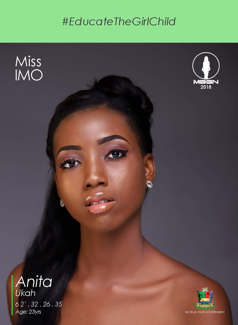 Photo of Miss Imo Anita Ukah Emerges Winner of #MBGN2018