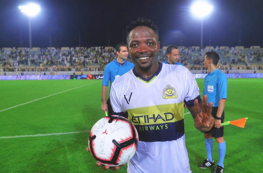 Photo of Ahmed Musa Opens Saudi Professional League Account With Hat-Trick Against Al-Qadisiyah