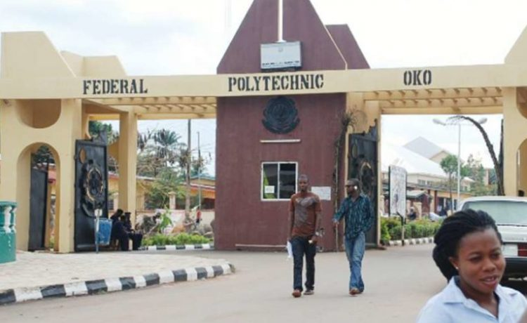 Federal Polytechnic Oko (OKOPOLY) 2018/2019 ND Weekend And Evening Admission Announced - OkayNG News