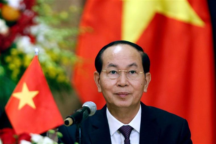 Vietnam President Tran Dai Quang
