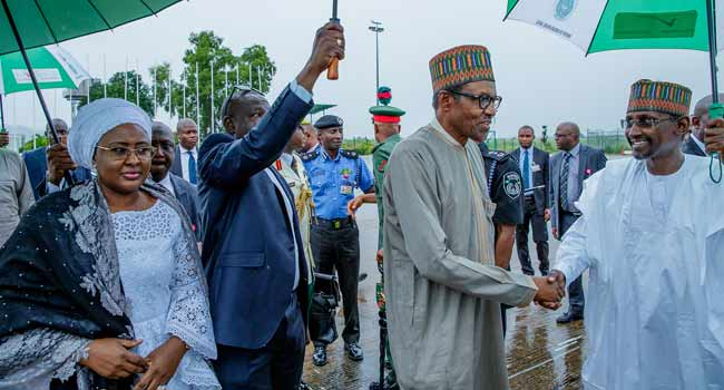 bUHARI un OkayNG - President Buhari Departs Nigeria for New York to Attend UN General Assembly