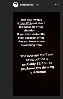 VJ Ehiz Narrates How His Passport Renewal Was Delayed Because of his Dreadlocks - OkayNG News