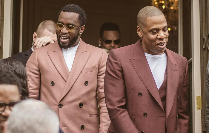 Diddy and JAY-Z