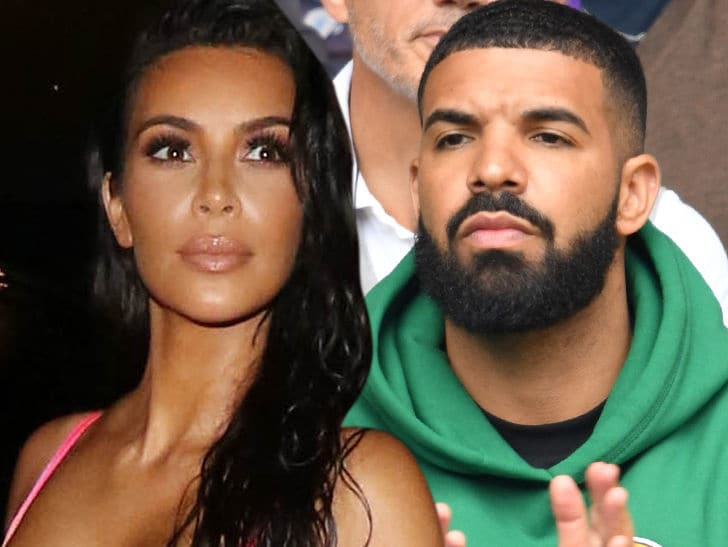 Photo of Kim Kardashian Had A Romantic Affair with Drake? Here Is What She Has to Say