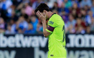 Leganes 2-1 Barcelona