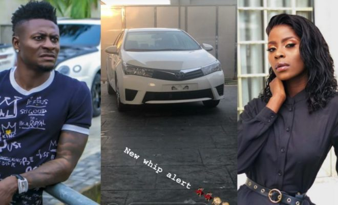 Obafemi Martins Surprises BBNaija Khloe with A Brand New Car Gift [See Photos] - OkayNG News