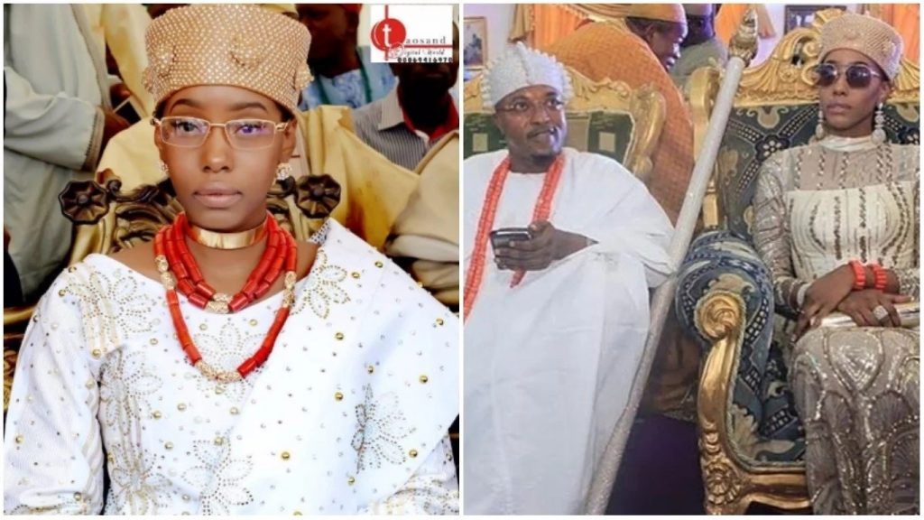 oluwo of iwo - Oluwo of Iwo Declares His Wife As 'The Most Beautiful Queen In The World' As He Celebrates Her Birthday