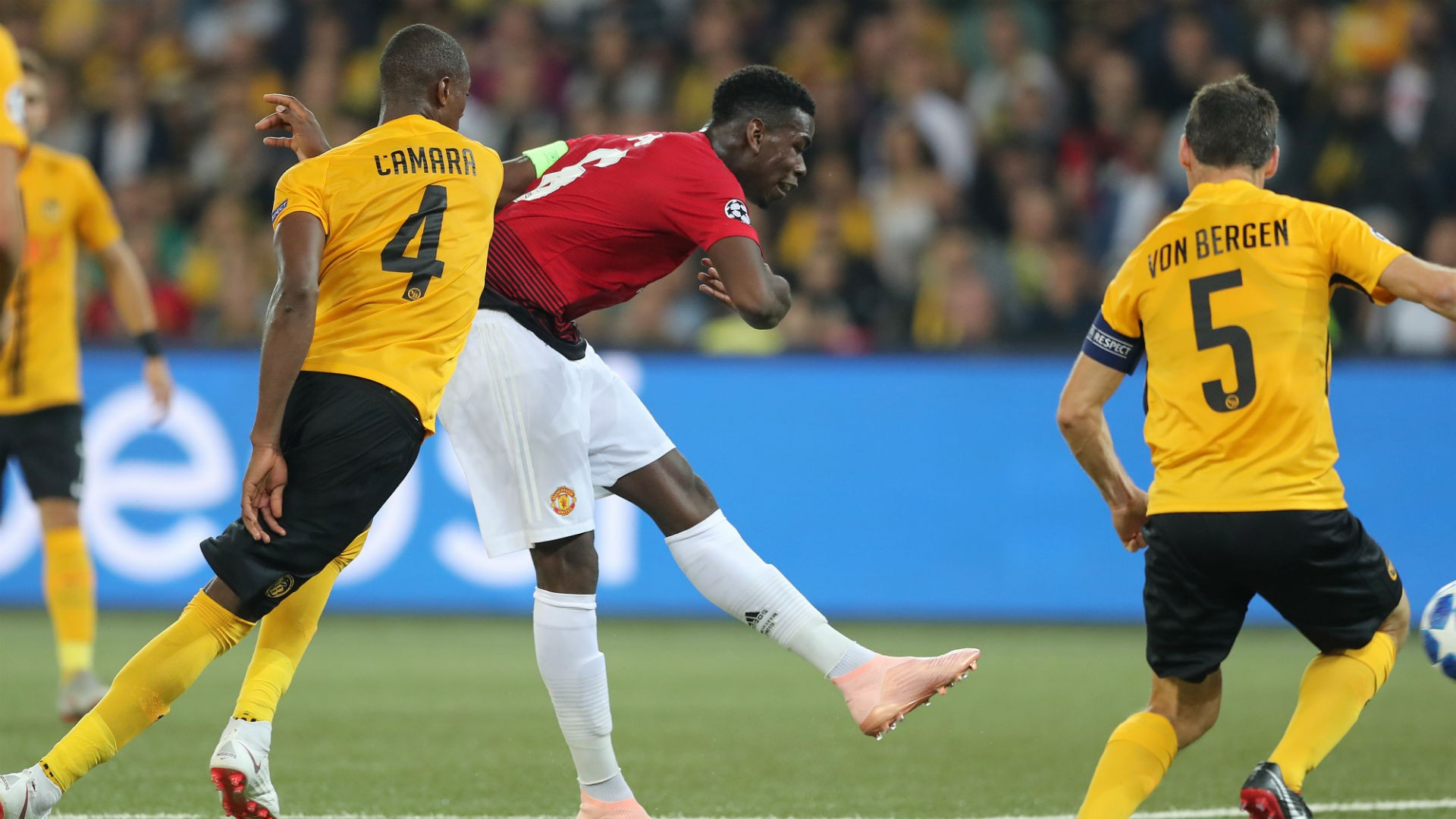 paul pogba cropped 1c0ob0vjvfmh5157z8kc3kvkgw - Young Boys 0-3 Manchester United [UEFA Champions League Highlights] [Watch Video]