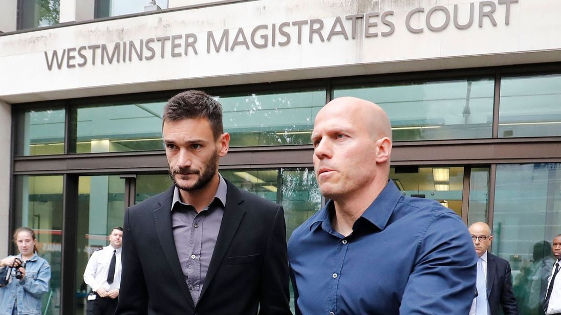 skynews lloris driving tottenham 4418591 - Hugo Lloris: Tottenham Goalkeeper Banned For 20 Months