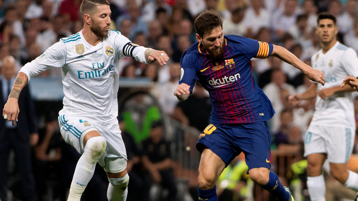 sp12 Barca Madrid - Barcelona To Host Real Madrid In First El Clasico [See Date]