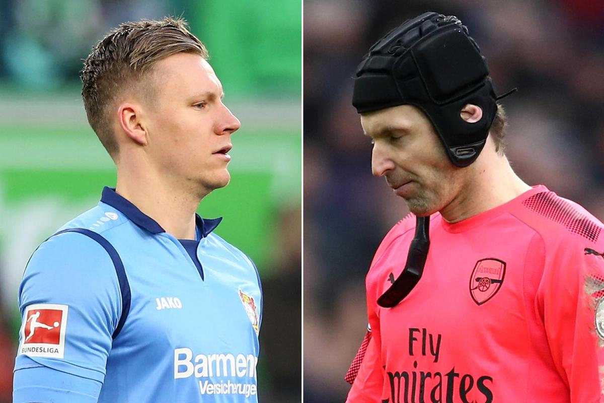 sport preview bernd leno and petr cech - Unai Emery Drops Cech, Pick Bernd Leno For Europa League Game Against Vorskla Poltava