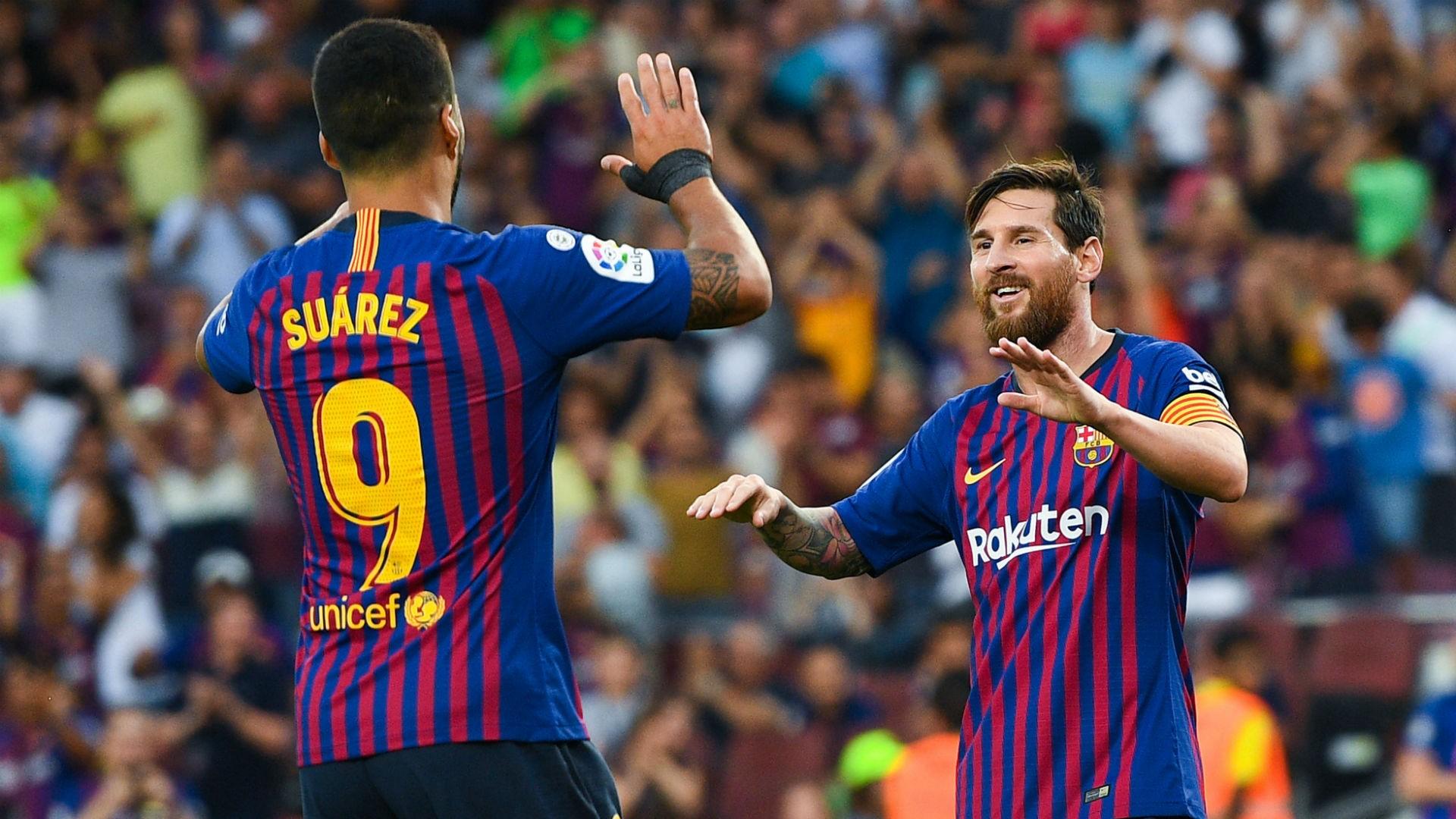 suarezmessi cropped ofvd0hv9pfx91hag3mmqjdpsu - VIDEO: Barcelona 8-2 Huesca (LaLiga) Highlights