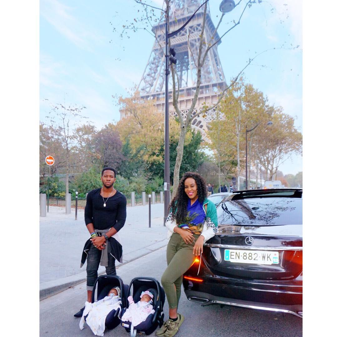 42003527 2032525823435496 528535995285123614 n - PHOTO: Emma Nyra Steps Out With Her Twins Two Months After Giving Birth