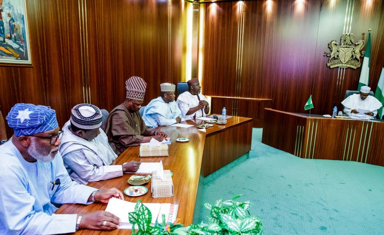 Why 9 APC Governor Met with President Buhari Over Crises In Party [Revealed] - OkayNG News