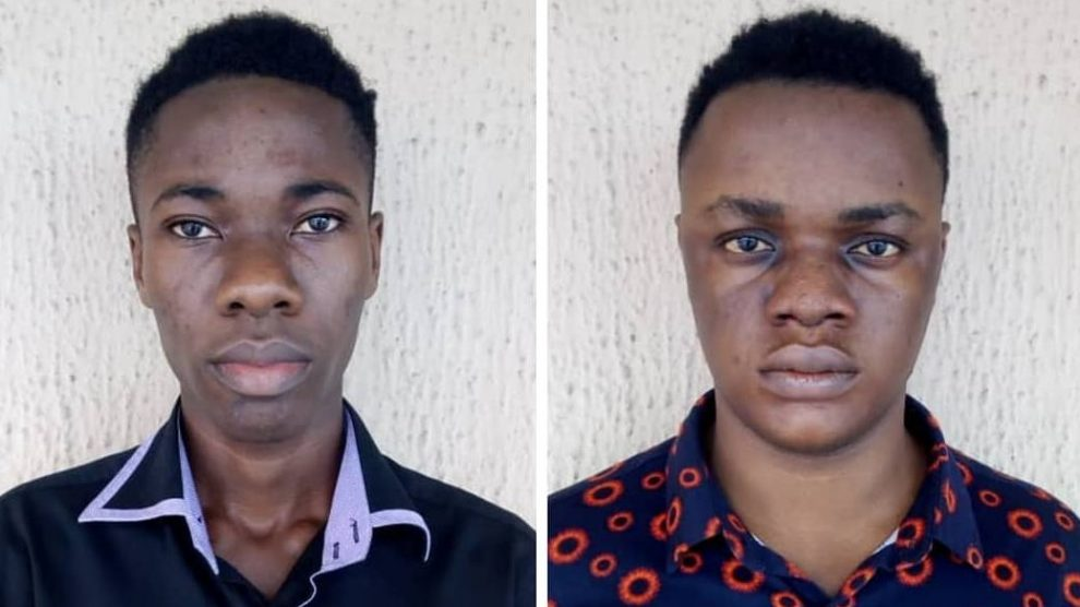 Arrested Site Owners OkayNG 1 - EFCC Arrests Owners of Exam Malpractice Websites In Port-Harcourt