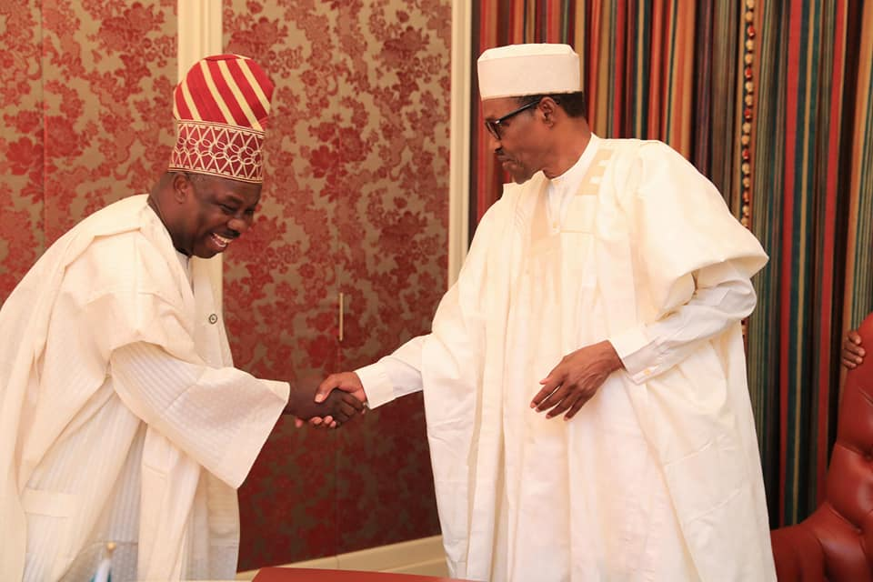 Photo of I'M NOT LEAVING APC! Amosun Declares Support for Buhari