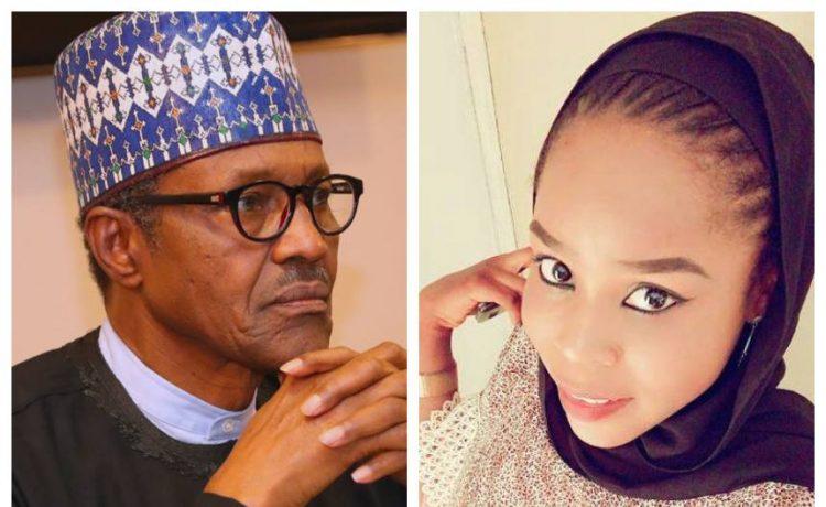 Buhari and Hauwa Leman