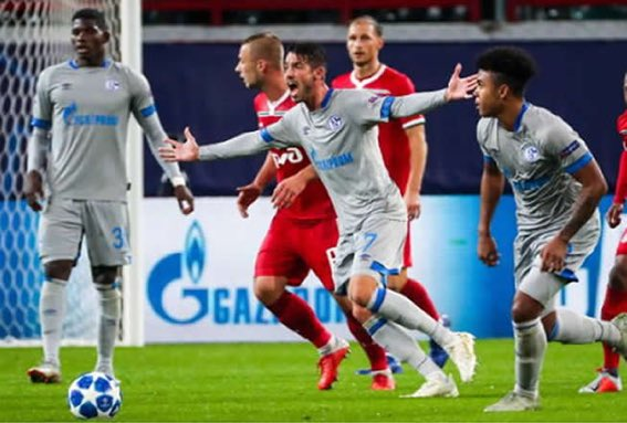 Domt1uOX0AEQIcp - Lokomotiv Moscow 0-1 Schalke [UEFA Champions League Highlights] [Watch Video]