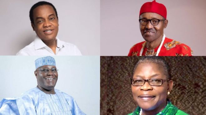 Full List of 2019 Presidential Candidates and their Parties [See] - OkayNG News