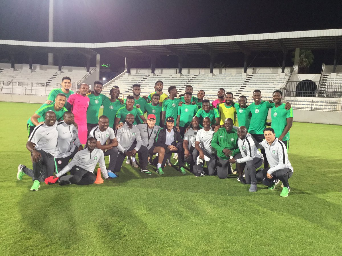 Photo of Super Eagles Arrive In Sfaxf, Tunisia Ahead of Tuesday's AFCON Match Against Libya