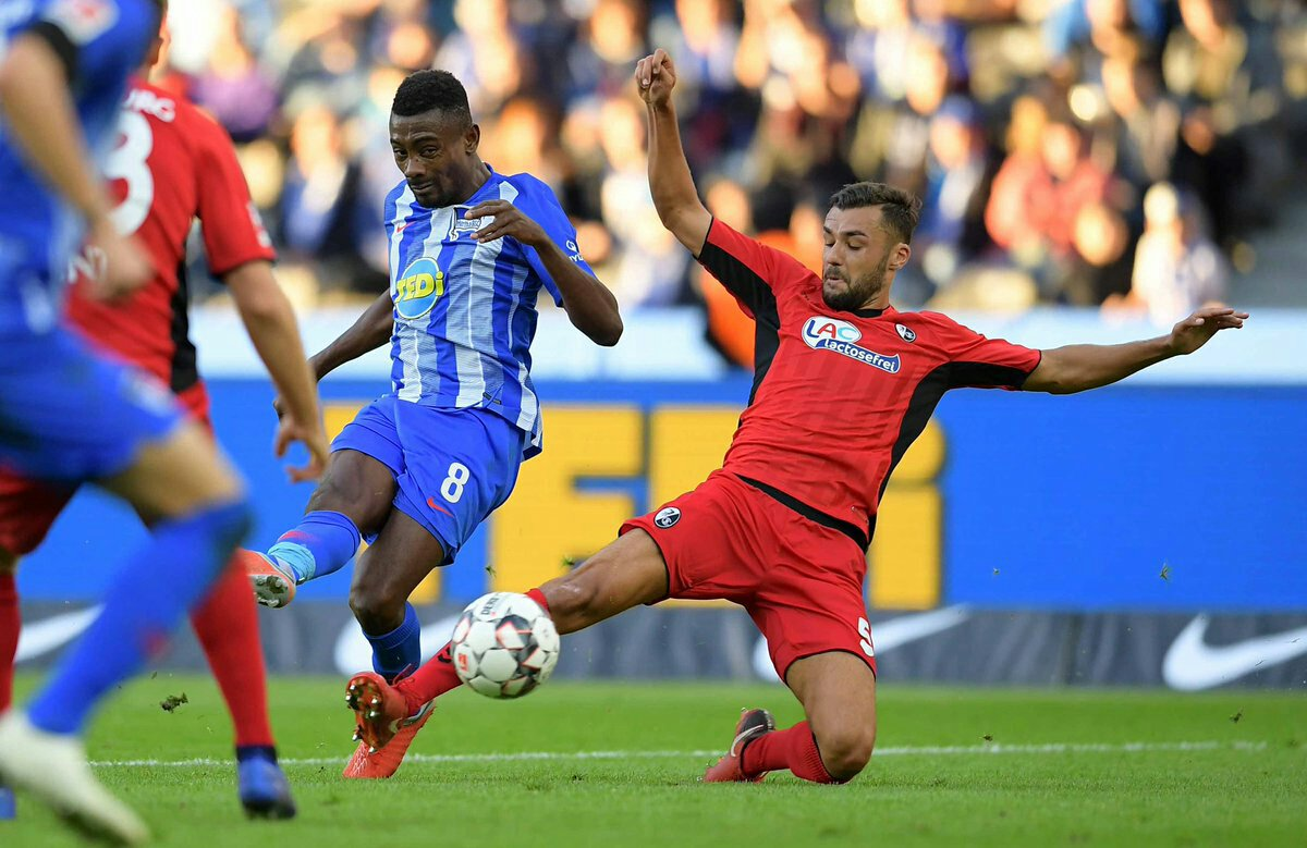 Hertha Berlin 1 – 1 Freiburg [Bundesliga Highlights] [Watch Video]