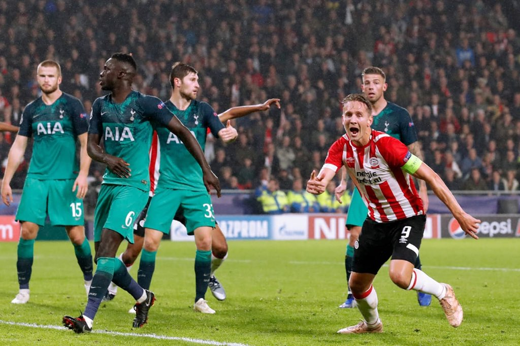 Photo of PSV 2 – 2 Tottenham Hotspur [UEFA Champions League Highlights] [Watch Video]