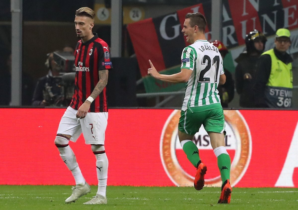 DqYLNlKX4AELwSQ - AC Milan 1-2 Real Betis [UEFA Europa League Highlights] [Watch Video]