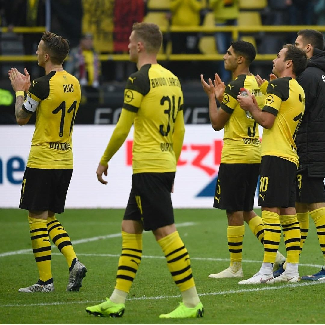 DqiIF 7WsAAWtIK - Borussia Dortmund 2 – 2 Hertha Berlin [Bundesliga Highlights] [Watch Video]