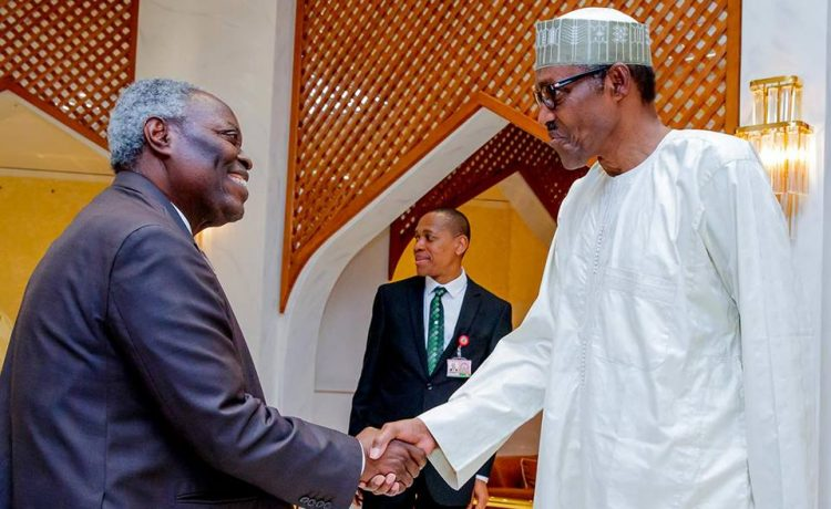 President Buhari Receives Pastor Kumuyi in Aso Rock [See Photos] - OkayNG News