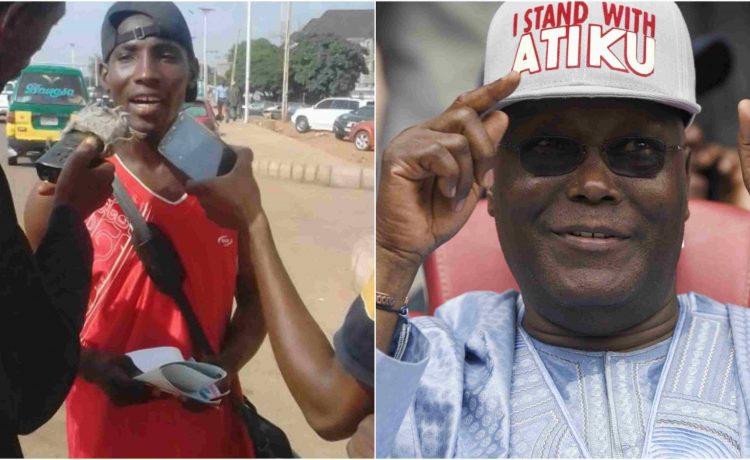 Man Treks From Zaria to Abuja to Show Support for Atiku - OkayNG News
