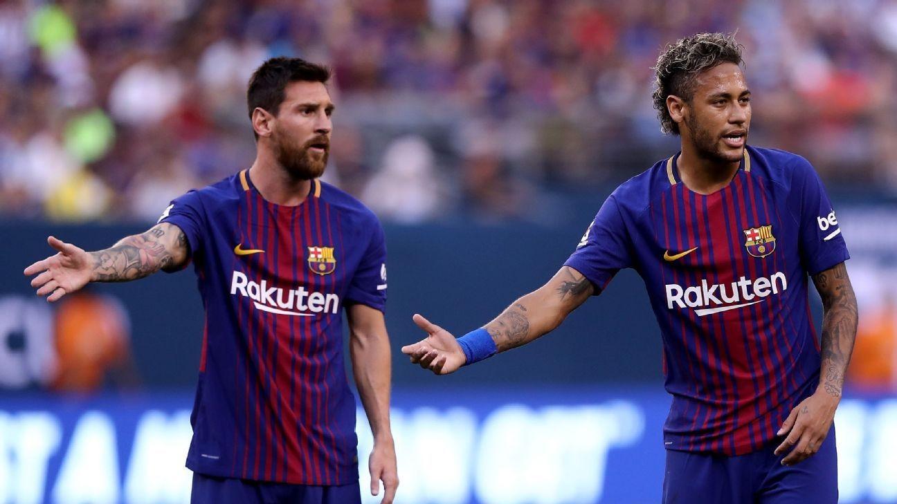 Messi Neymar - Neymar Reveals Messi as His Idol, Describes Ronaldo as a 'Monster'
