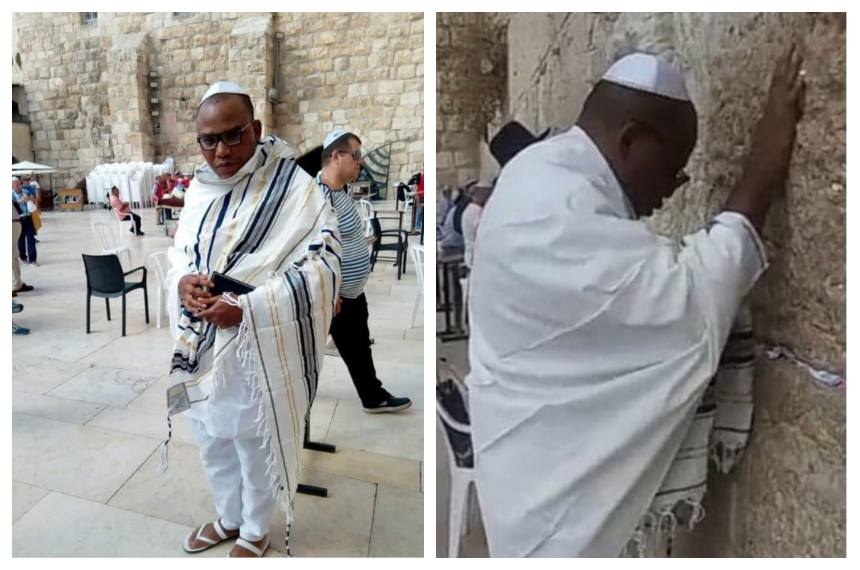 Nnamdi Kanu Jerusalem OkayNG - Court Orders Abaribe, Others to Pay N100m for Inability to Produce Nnamdi Kanu