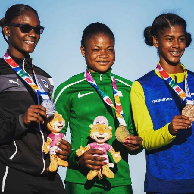 Photo of 2018 Youth Olympic Games! Nigeria's Rosemary Chukwuma Wins 100m Gold Medal
