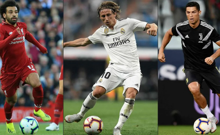 Modric, Salah, Hazard and Others Shortlist In 30-Man List For 2018 Ballon d'Or Award [See Full List] - OkayNG News